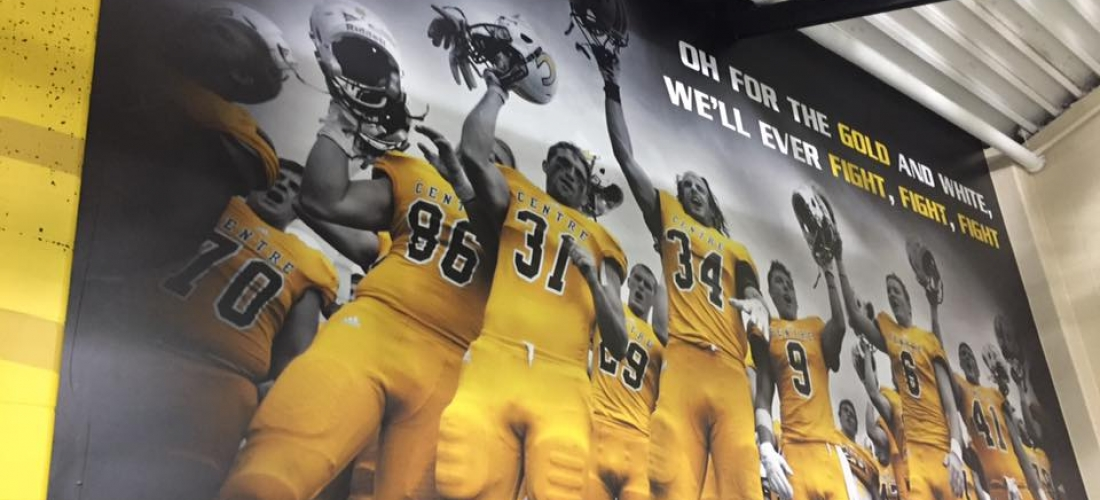 Centre College Football Mural
